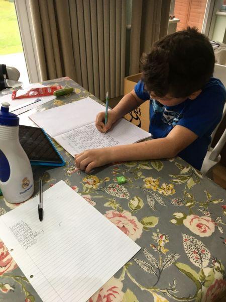 George-writing